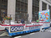 Hispanic Parade Float 009