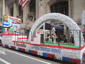 Hispanic Parade Float 020