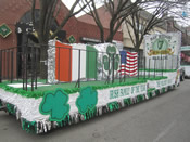St Patrick's Day Parade Float 011
