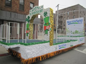 St Patrick's Day Parade Float 014