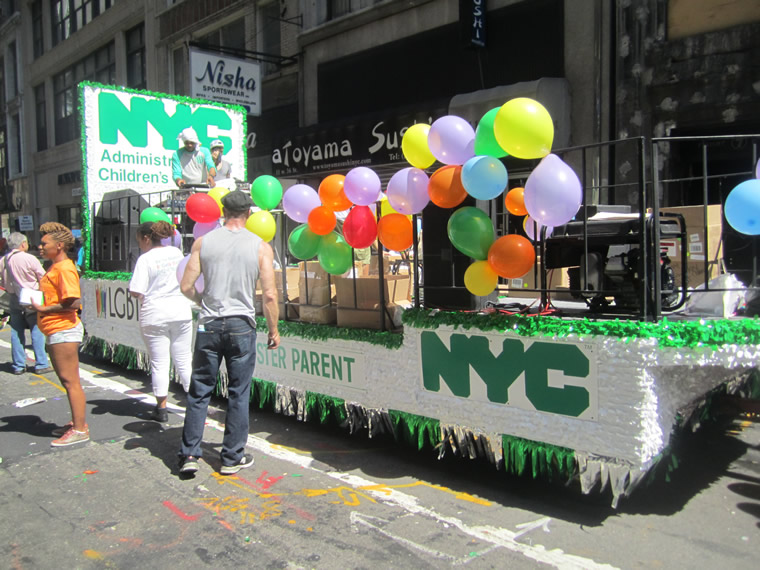 Gay Pride Parade Float 014