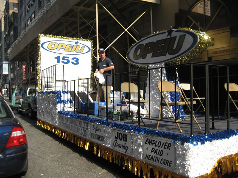 Labor Day Parade Float 008