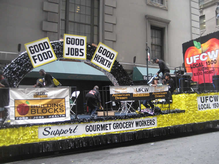 Labor Day Parade Float 012
