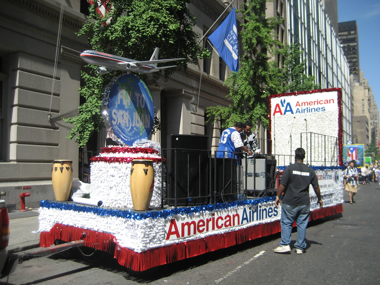 Puerto Rico Parade Float 012