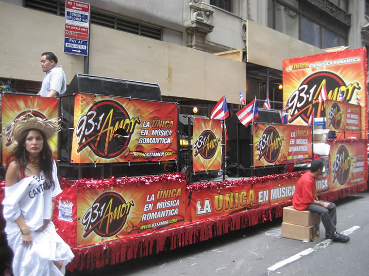 Puerto Rico Parade Float 014