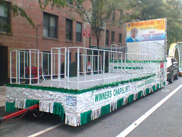 Nigerian Parade Float 002