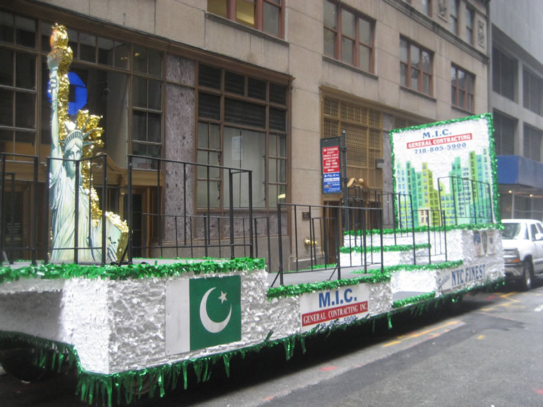 Pakistan Parade Float 009