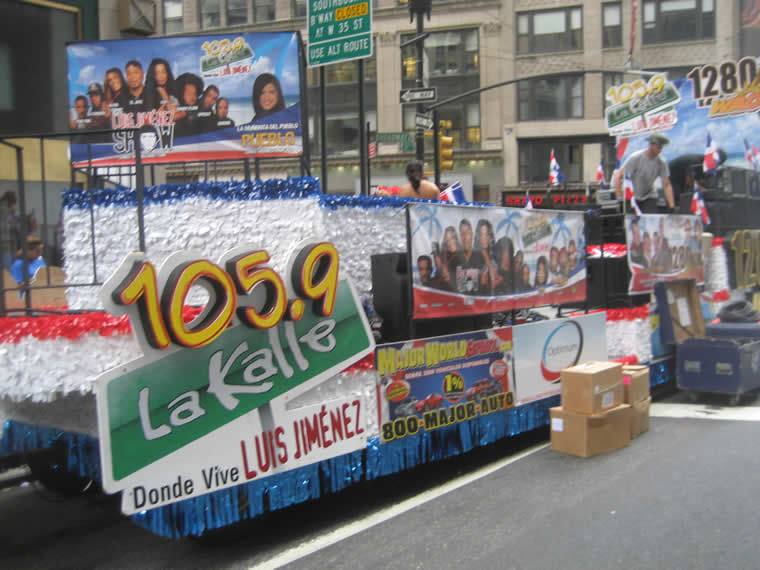 Dominican Parade Float 002