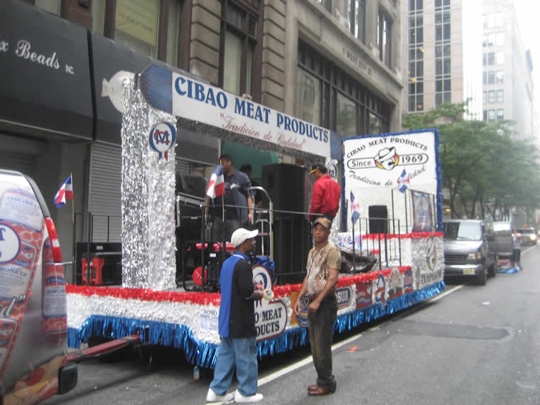 Dominican Parade Float 013
