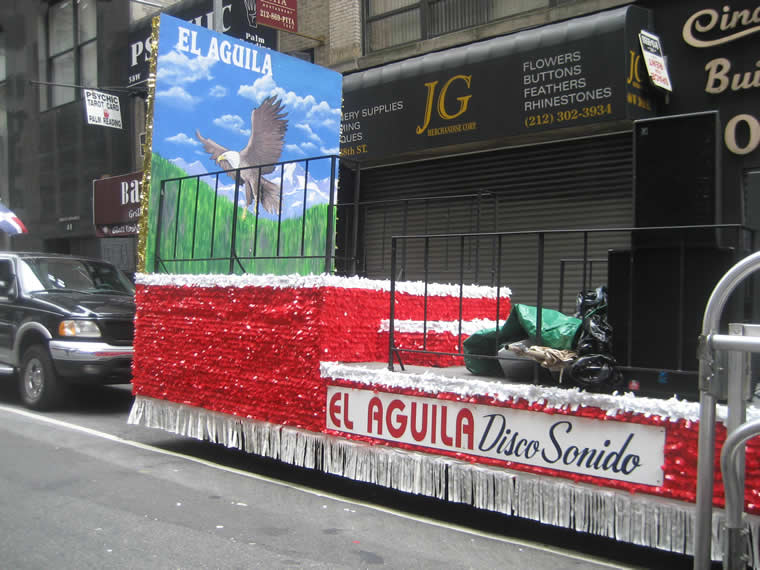 Dominican Parade Float 016