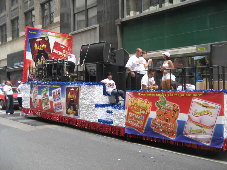 Dominican Parade Float 020