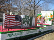 St Patrick's Day Parade Float 001
