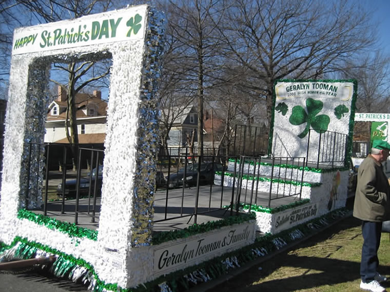 St Patrick's Day Parade Float 004