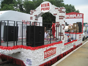 Peru Parade Float 001