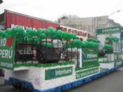 Peru Parade Float 011