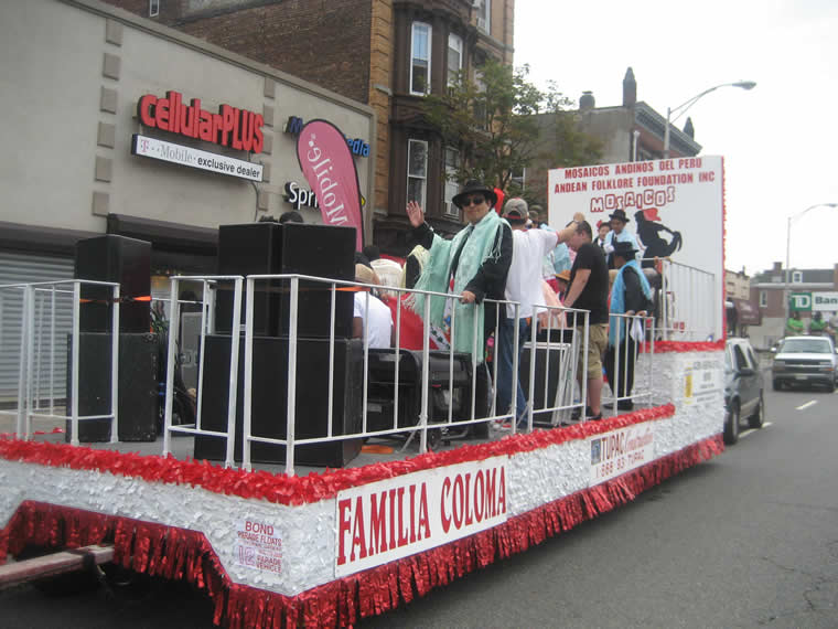 Peru Parade Float 013