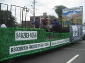 Peru Parade Float 017