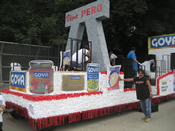 Peru Parade Float 020